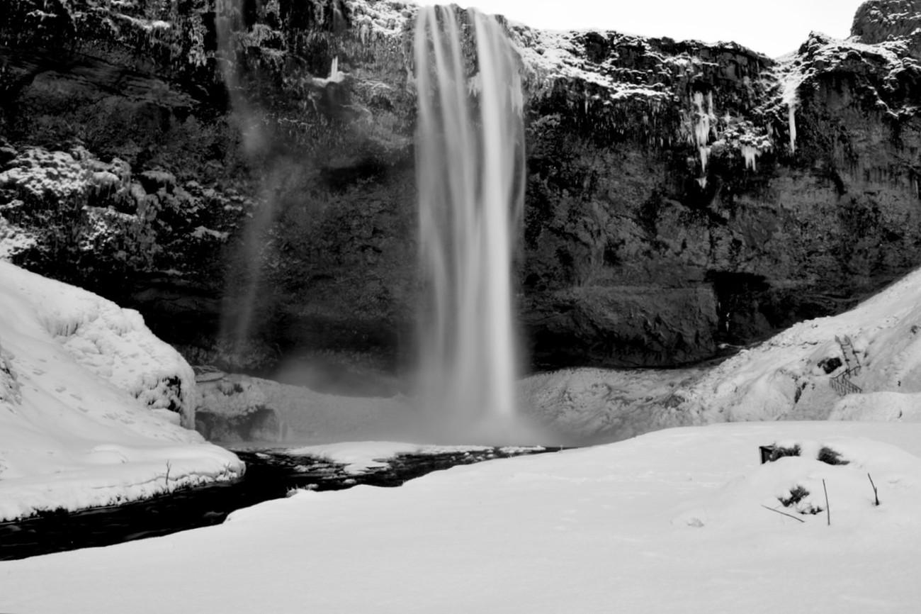 Iceland Waterfall.