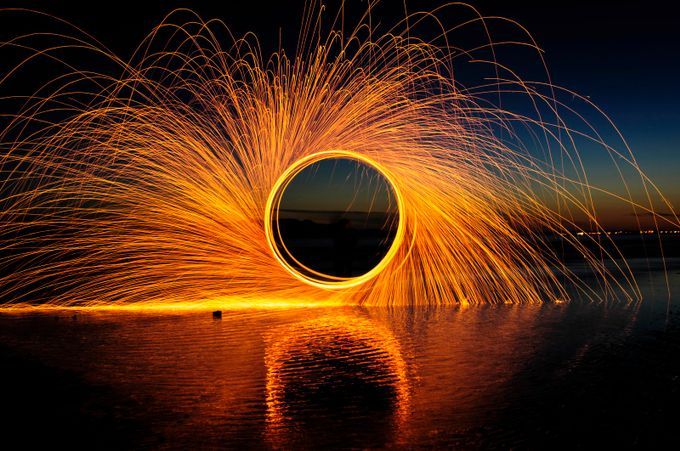 Fire Wheel by mikecrossland - Show Movement Photo Contest