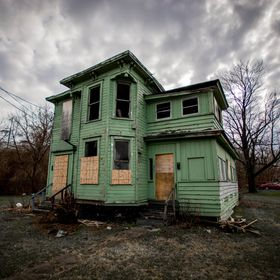 Abandoned home in Syracuse, NY.