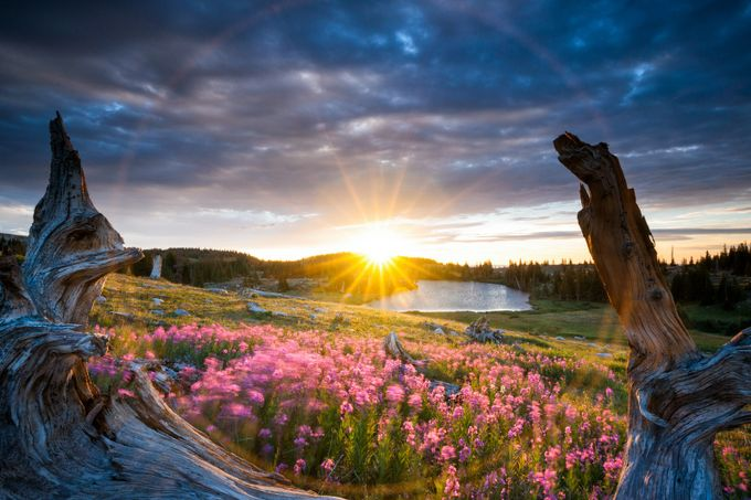 Medicine Bow Sunrise by jasonjhatfield - Flares 101 Photo Contest