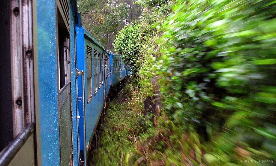 Sri Lankan trainride