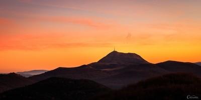 Calendrier de l'avent - Advent calendar : Puy de Dôme - Auvergne - France