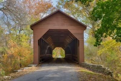 Meems Bottom Covered Bridge; Mt. Jackson, Va