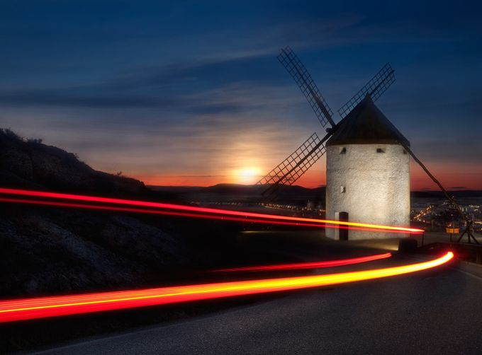Quixote Style by Dolcefoto - Windmills Photo Contest