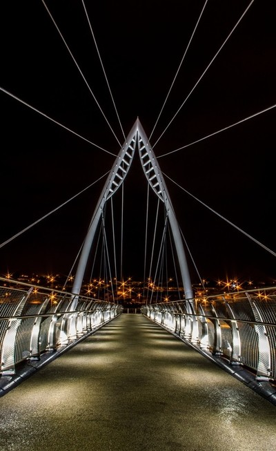 The Bridge With No Name @ Night