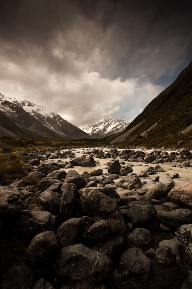 View to Mt Cook by Mdphotog - Rugged Landscapes Photo Contest