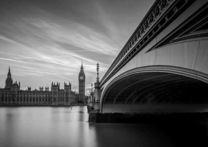 Time Stands Still by geminatrix - Black And White Architecture Photo Contest