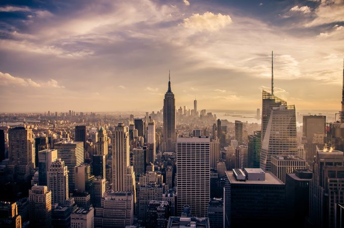 TopOfTheRock by whaevamakesuhappy - New York Photo Contest