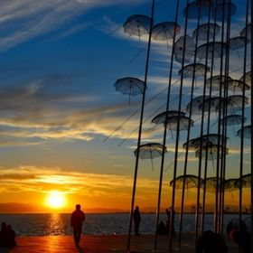Thessaloniki's umbrellas!!