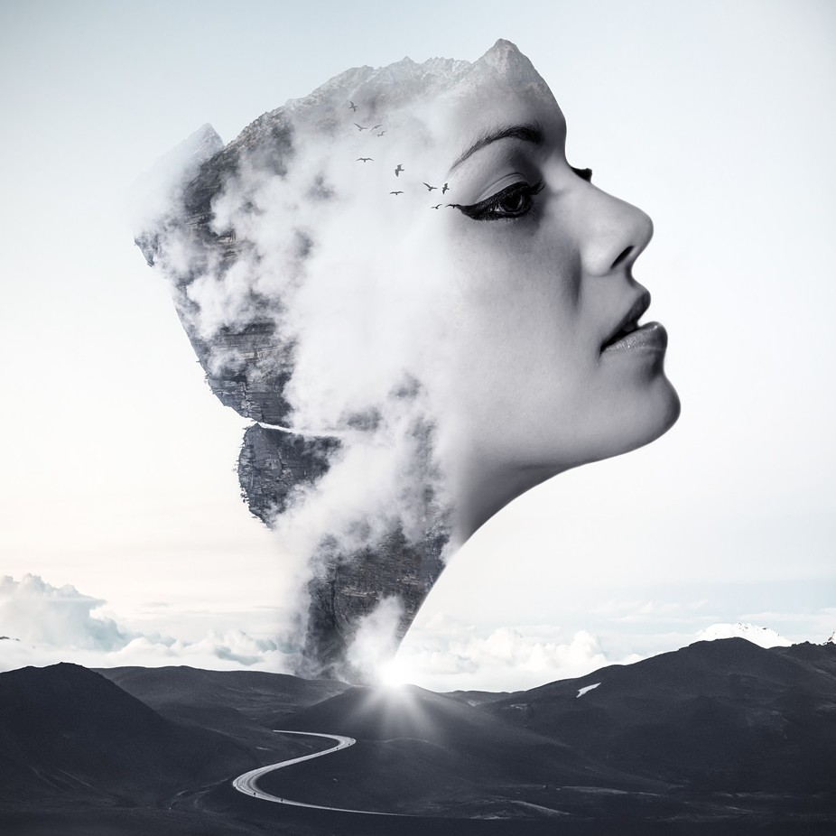 Woman Of The Mountain by kylere - Metamorphosis Photo Contest