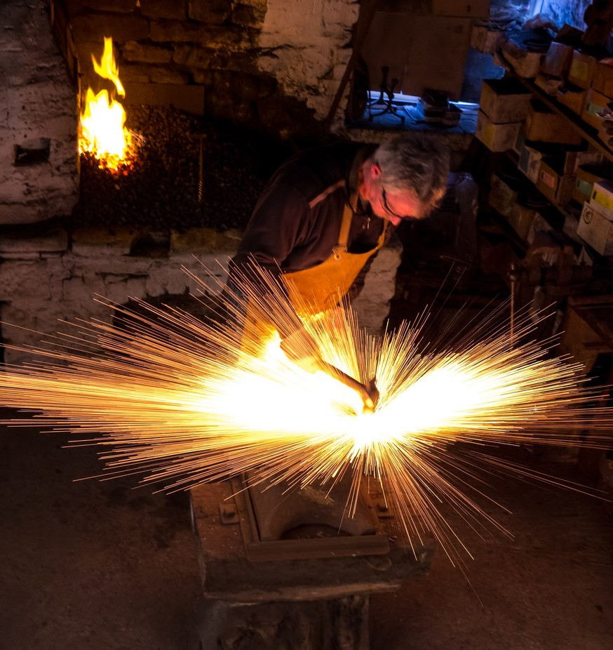 Fire Welding by malcolmjohnp - Show Movement Photo Contest