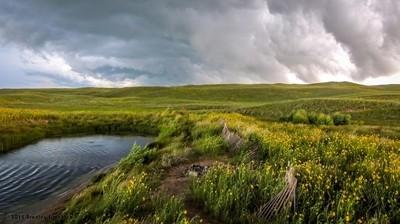 Nebraska Sandhills Summer Storm