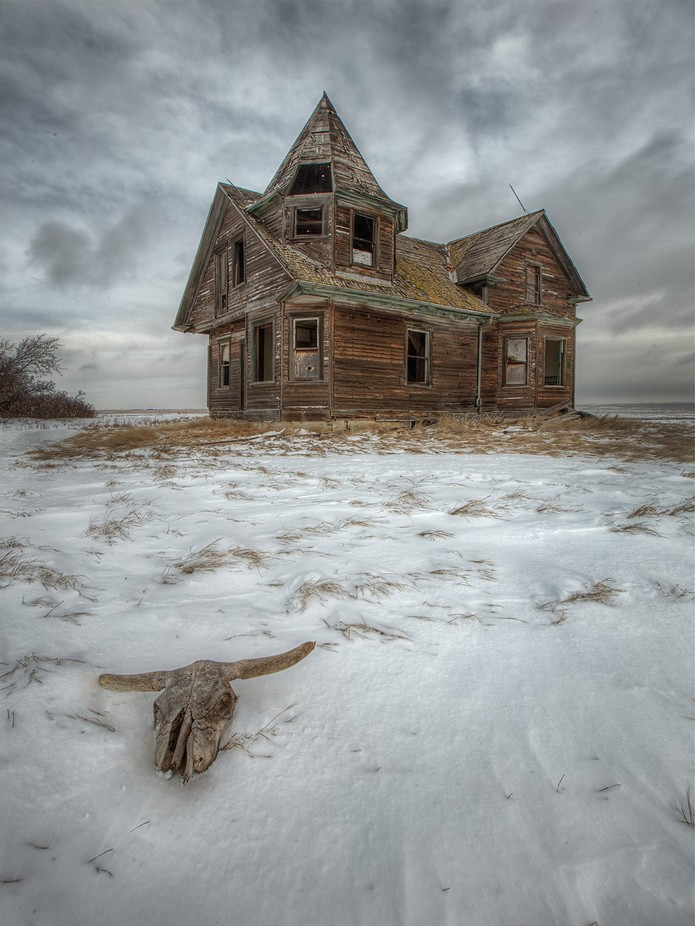 The Witches House by RyanWunsch - A Low Vantage Point Photo Contest