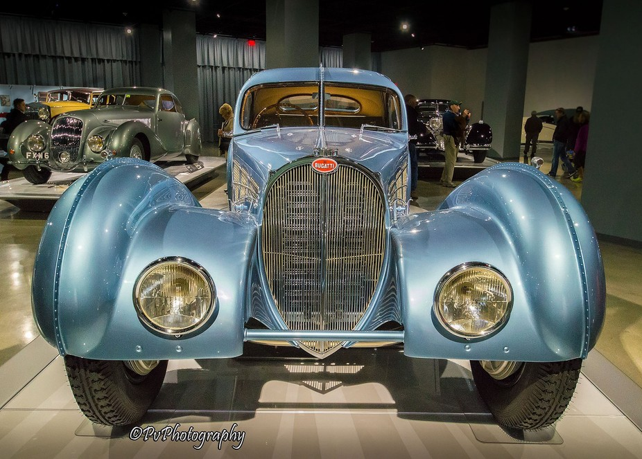 From the recently reopened and renovated Petersen Museum in L.A. comes this aerospace influenced ...
