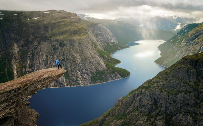 Trolltunga by marcbaechtold - Adventure Land Photo Contest Outside Views