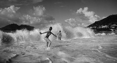 Wave, Saint Barthélemy, French West Indies, 2015