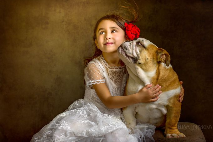 Love With Abandon by ElenaParaskeva - Kids And Pets Photo Contest
