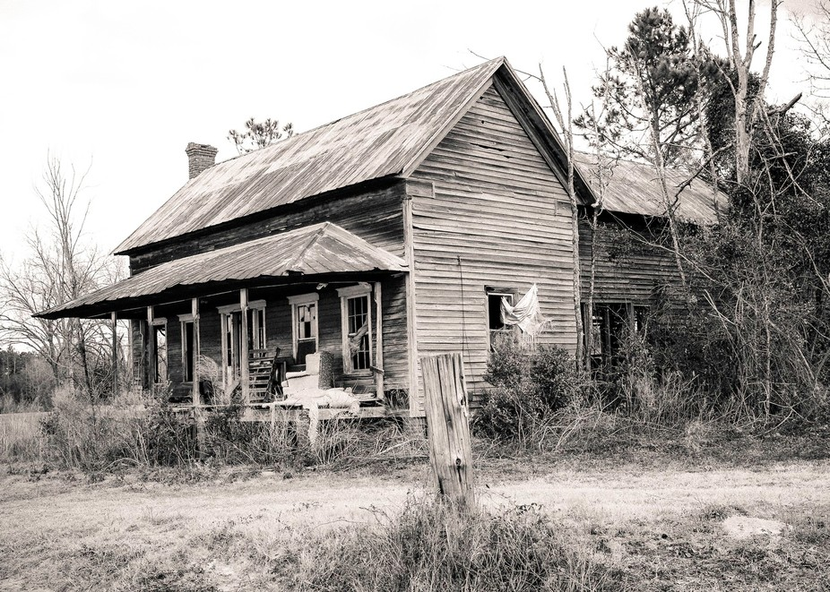 Old house in Georgia.