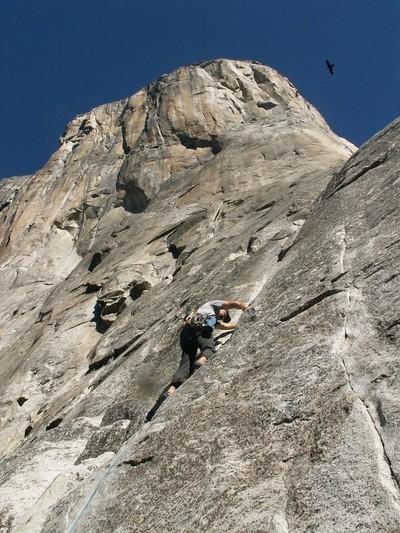 Climbing on El Capitan!