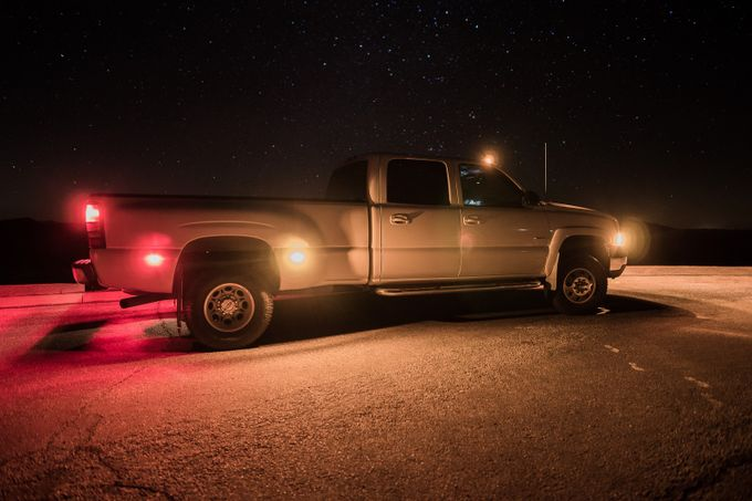 Chevy Under The Stars by Ranbud - My Favorite Car Photo Contest