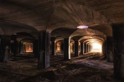 Light Through the Catacombs