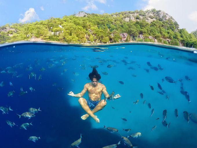 Yoga Undersea by marcbaechtold - Faith Photo Contest with Scott Jarvie