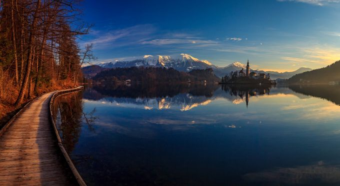 Lake Bled by miroslav1 - Boardwalks Photo Contest