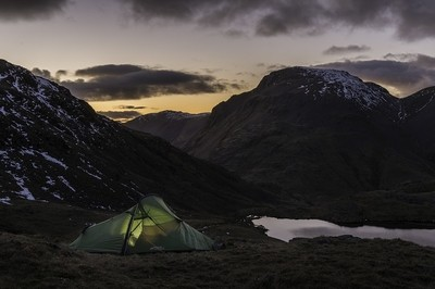 A night under Great Gable