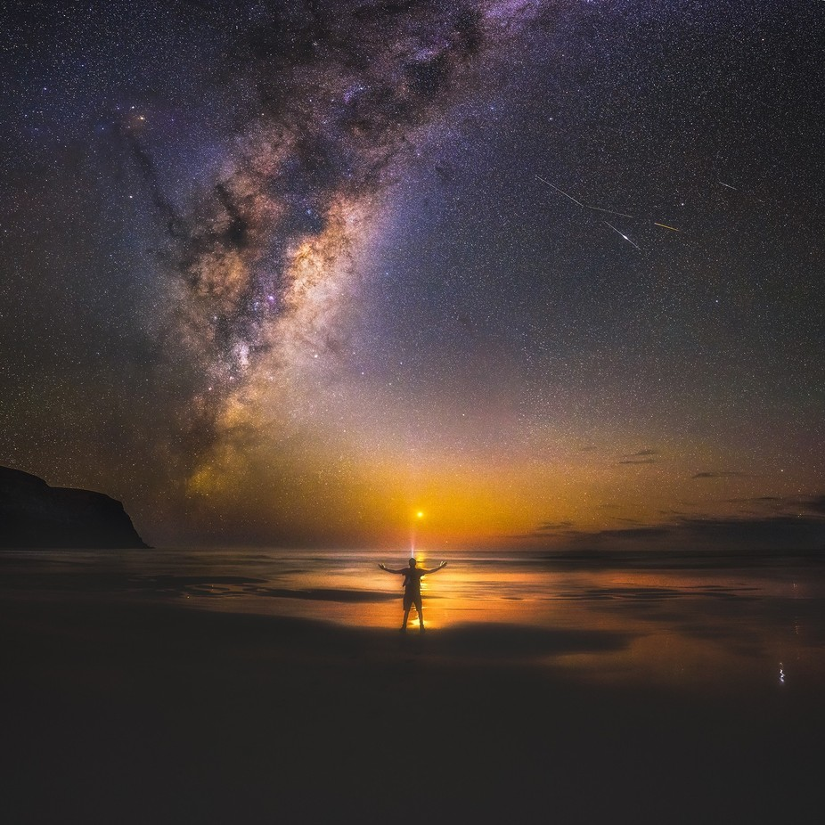 Solitude in the Masses by PaulWilsonImagesNZ - People In Large Areas Photo Contest
