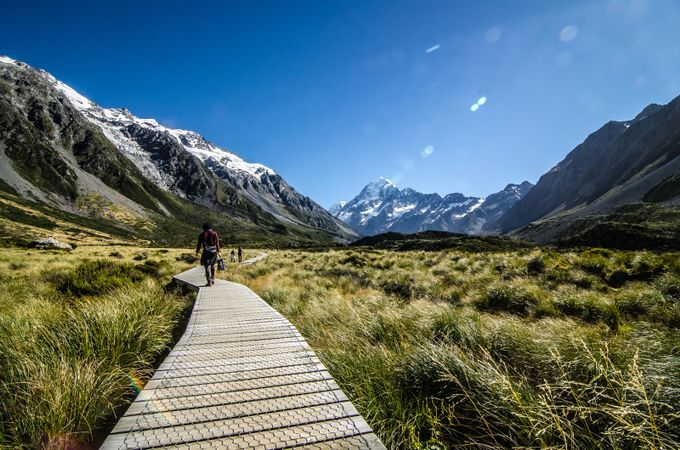 Hooker Lake track by karolispipiras - Promenades And Boardwalks Photo Contest