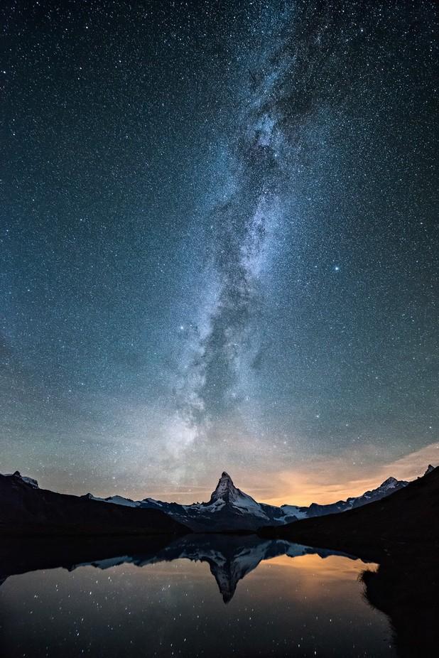 Zermatt Milky Way by romanburri - Nature And The Night Photo Contest