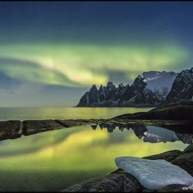 A magnificent present from Mother Nature... (Senja Island, Norway, Europe)