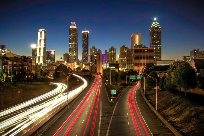 Atlanta  by ks_pics - City In The Night Photo Contest