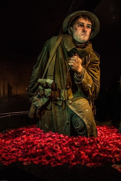From the Gallipoli Exhibition at Te Papa Museum