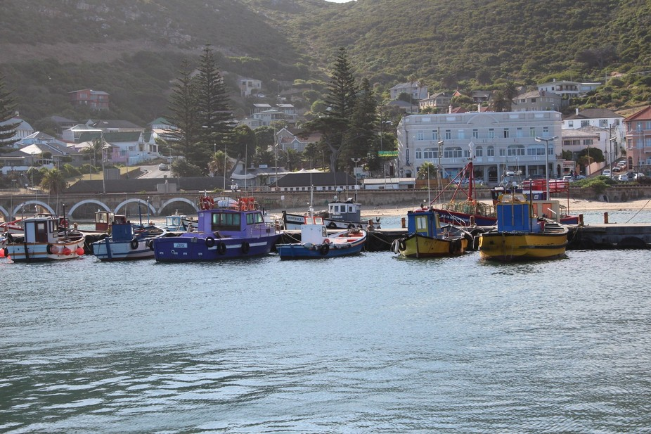 Kalk Bay Harbour, Cape Town South Africa.