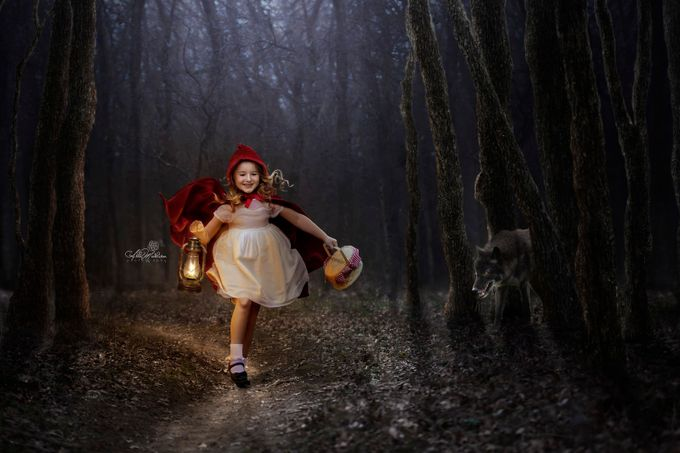 Little Red Riding Hood by AbbyMathison - Fairytale Moments Photo Contest