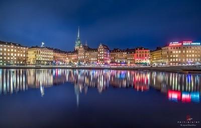 Stockholm (Gamla STan) by Night