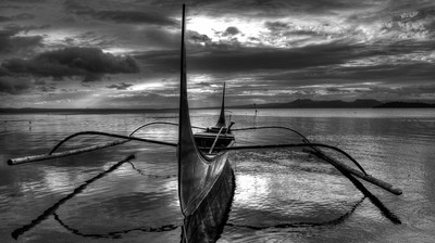 A Philippine fishing boat