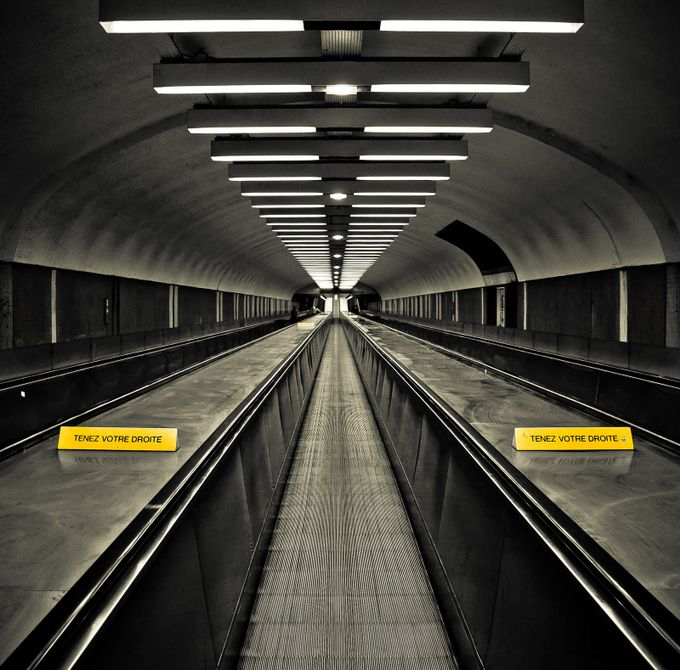 to the end by depechmaniac - Metro Stations Photo Contest