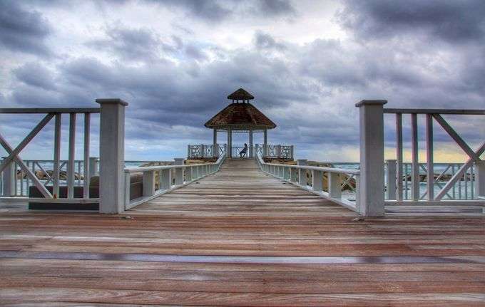 Ocean Prayer by Athena_B - Promenades And Boardwalks Photo Contest