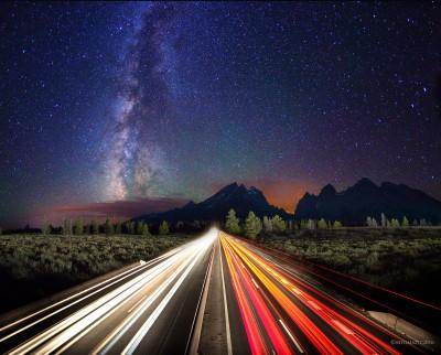 Highway to heaven - composite
