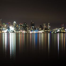 Seattle's reflection on Lake Union