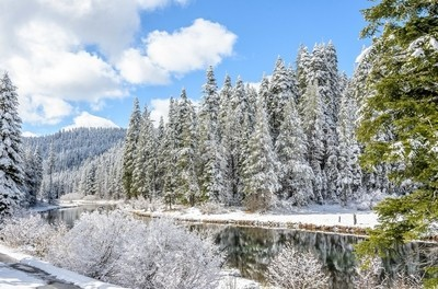 Winter on the Truckee River