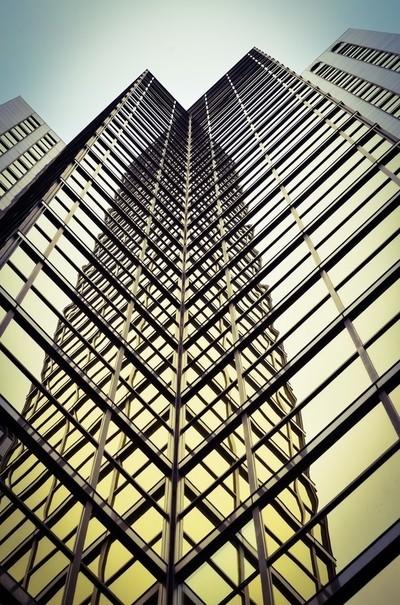 vertical mirrored mirage