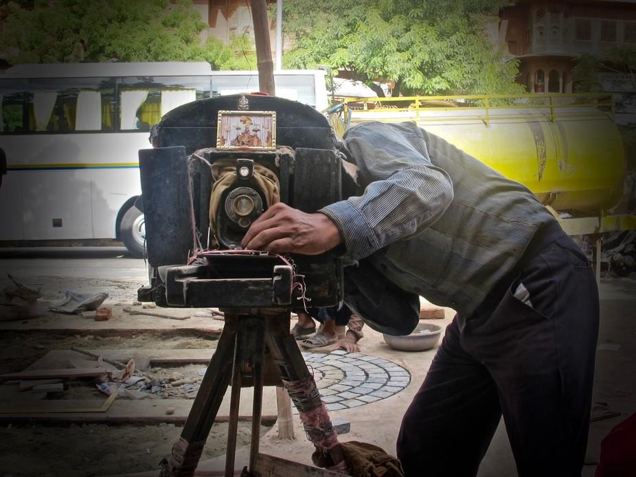 great old camera... New Delhi.. India