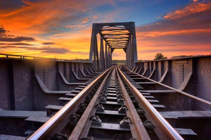 Bridging the gap by edsonreyes - Empty Railways Photo Contest