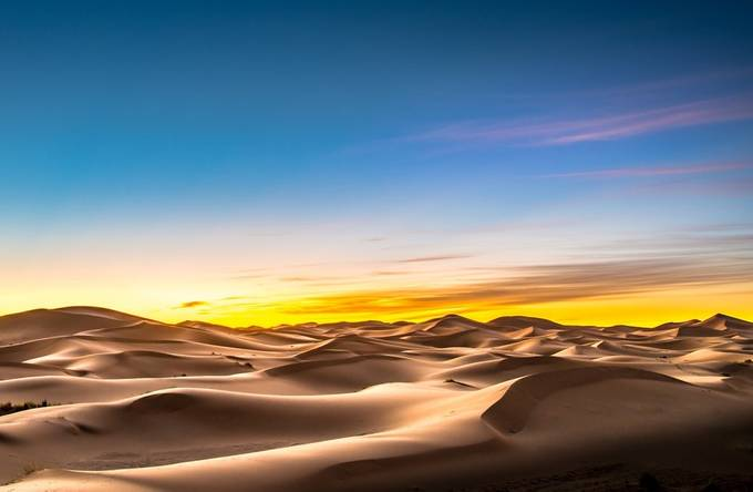 Erg Chebbi in the Morning by samuelroniger - Color Theory Photo Contest
