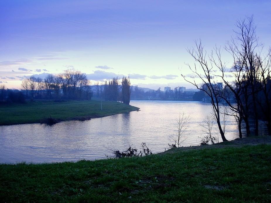 An evening in River Korana Karlovac