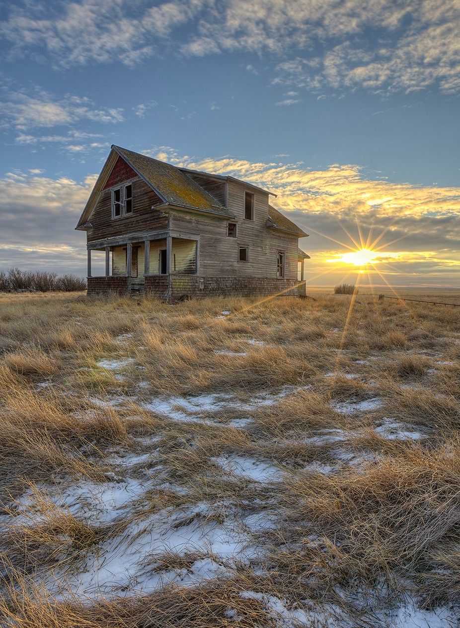 Leap Year Sunset by RyanWunsch - Isolated Cabins Photo Contest