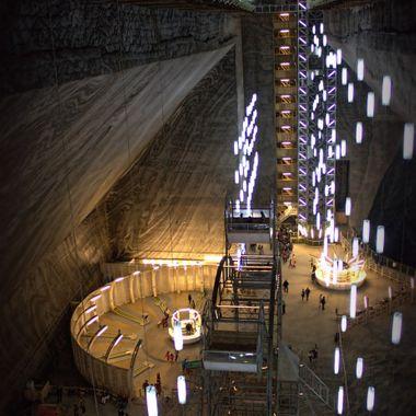 Salt Mine Museum in Romania